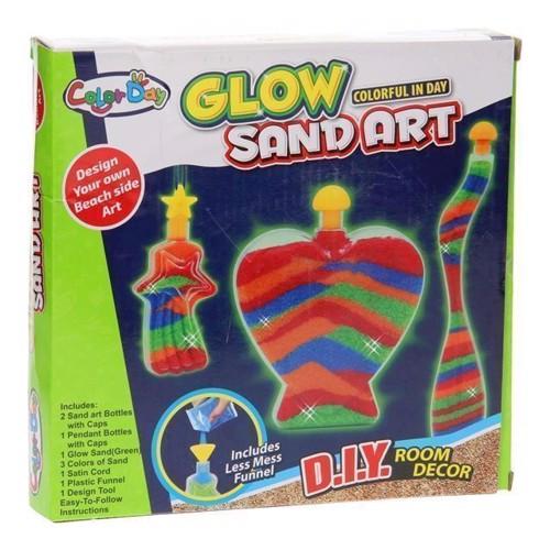 Image of Sandkunst selvlysende
