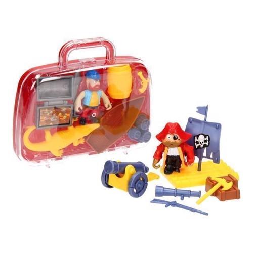 Image of   Pirat legesæt i kuffert