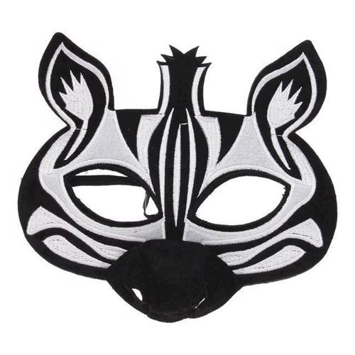 Image of   Maske Zebra