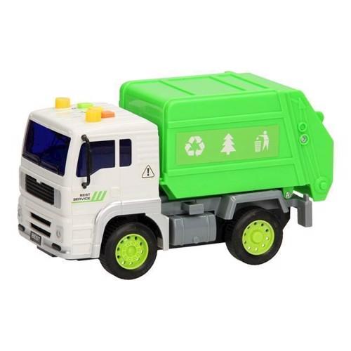 Image of   Skraldebil med lys og lyd 1:20