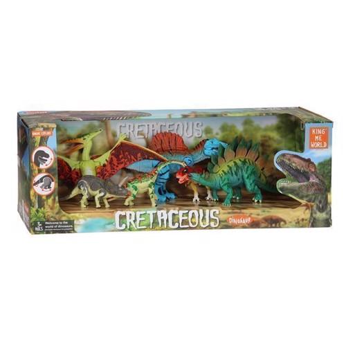 Image of Dinosaur legesæt med 6 dele (3800966011709)
