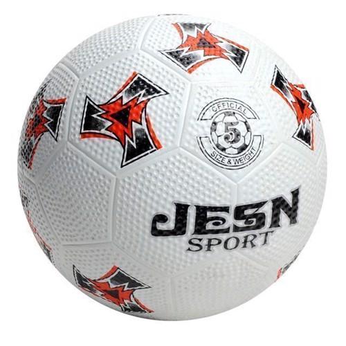 Image of   Gade fodbold, hvid