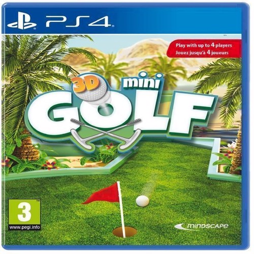 Image of   3D Mini Golf - PS4