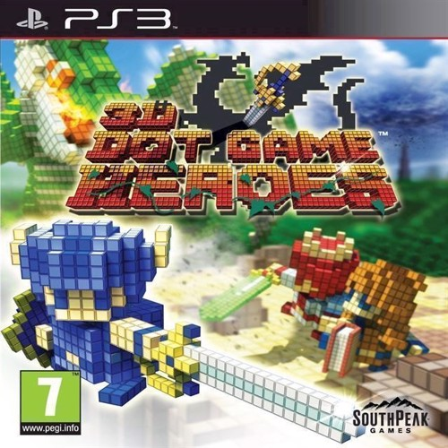 Image of 3D Dot Game Heroes Import - PS3 (0730865001347)