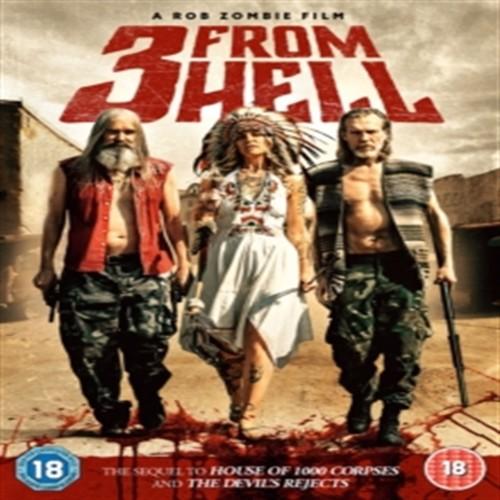 Image of 3 from Hell ( uden danske undertekster) DVD (5055761914078)