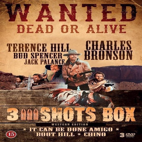 Image of 2 Shots Box Western Edition DVD (5709165384721)