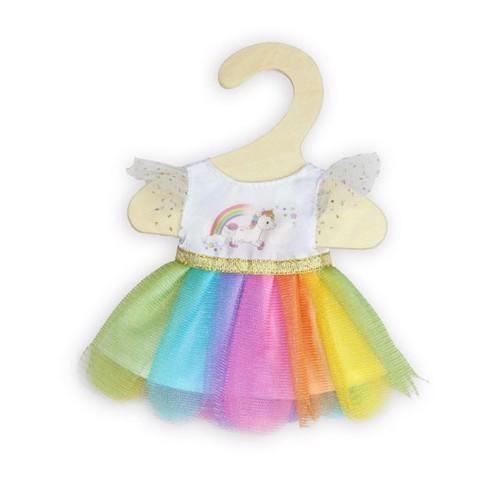 Image of Dukketøj, enhjørning kjole til dukker på 20-25 cm