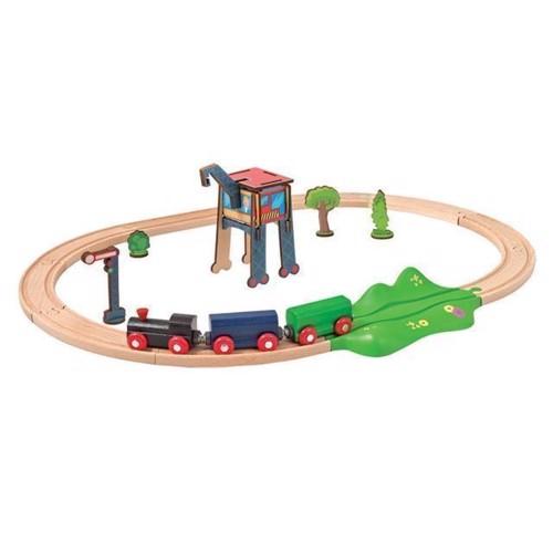 Image of Eichhorn togbane med tilbehør, 18 dele (4003046001884)