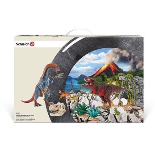 Image of Schleich stort dinosaur legesæt (4005086422674)