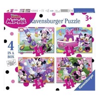 Minnie mouse puslespil 4i1