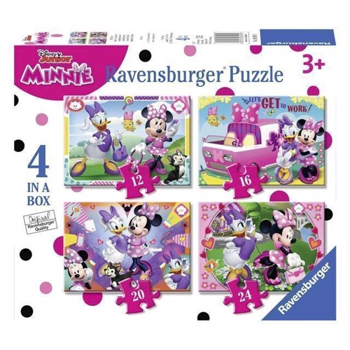 Image of Minnie mouse puslespil 4i1 (4005556069095)