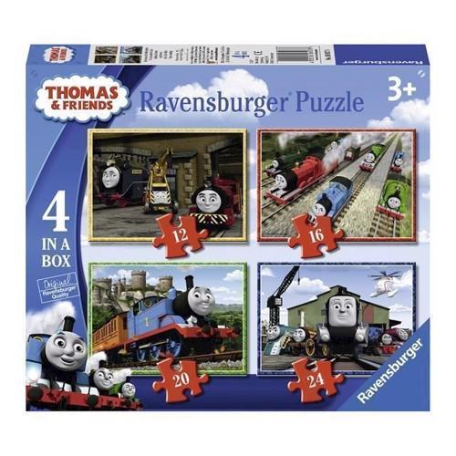 Image of   Thomas tog puslespil, 4i1