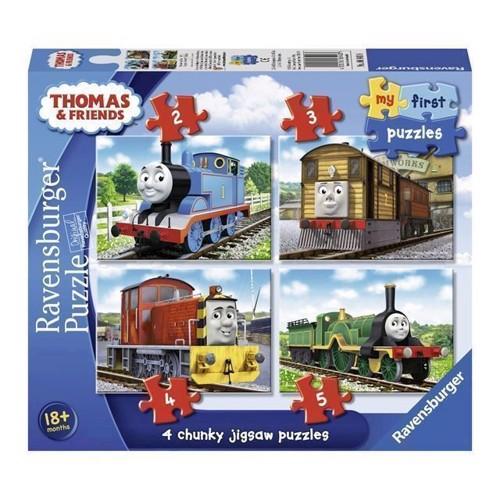 Image of   Thomas tog og venner puslespil 4i1