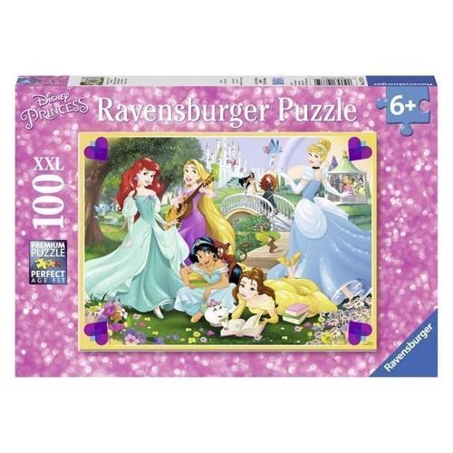 Image of Puslespil, Disney prinsseser 100 brikker
