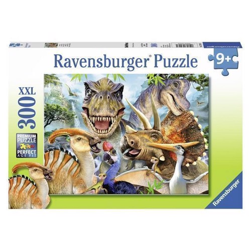 Image of Puslespil, Dinosaur, 300 brikker