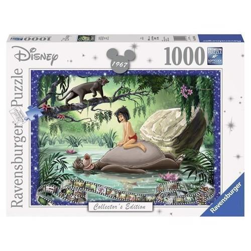Image of Disney puslespil, Collectors Edition Jungle Bogen, 1000 brikker (4005556197446)