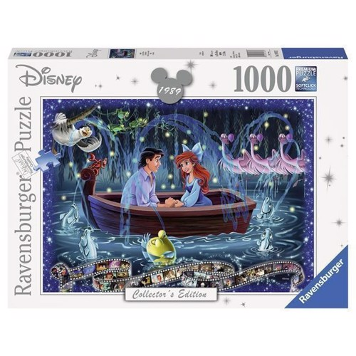 Image of   Disney Puslespil, Collectors Edition Ariel, 1000 brikker