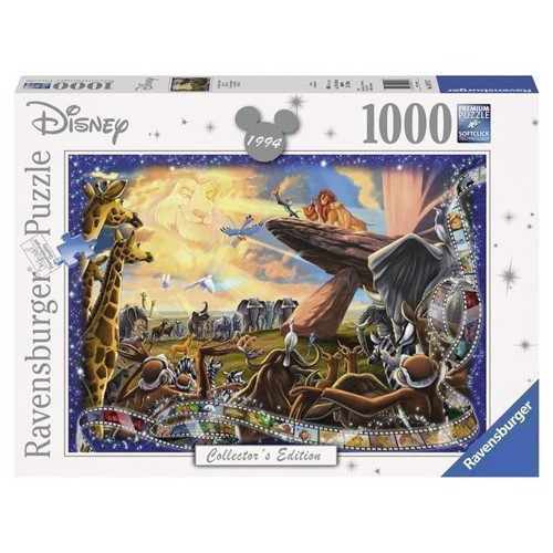 Image of   Disney puslespil, Collectors Edition The Lion King/løvernes konge, 1000 brikker