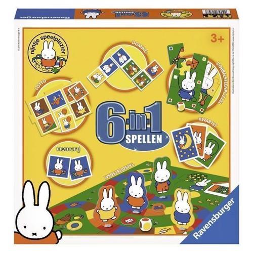 Image of Spil med Miffy, 6i1