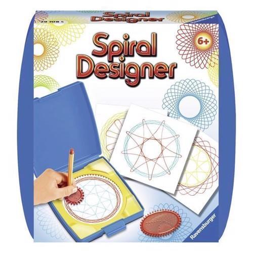 Image of Spiral designer mini, blå (4005556297085)