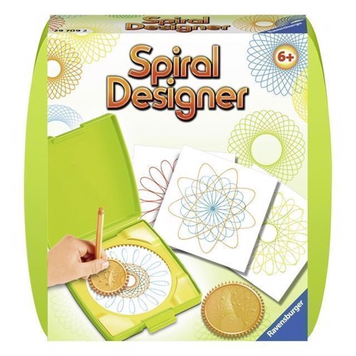 Image of Spiral designer mini, grøn (4005556297092)