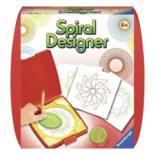 Image of Spiral designer mini, rød (4005556297122)