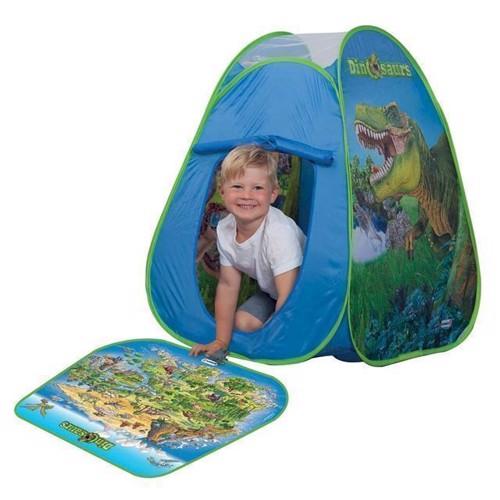 Image of   Pop-Up lege telt Schleich Dinosaur