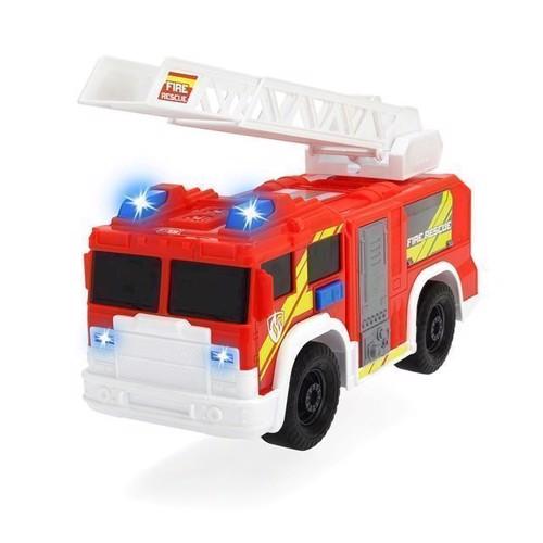 Image of Brandbil med lys og lyd, Dickie (4006333049873)
