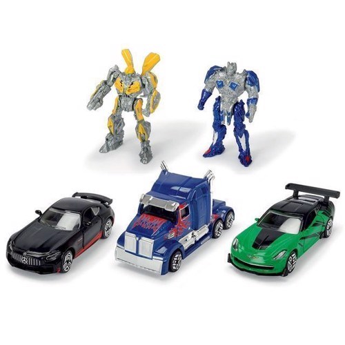 Image of Transformers M5 5 dele, Optimus Prime and Bumblebee (4006333350054)