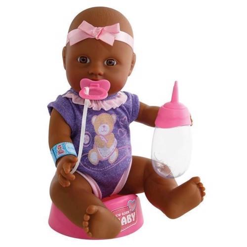 Image of Baby dukke med tilbehør, 4 dele, New Born Baby (4006592018986)