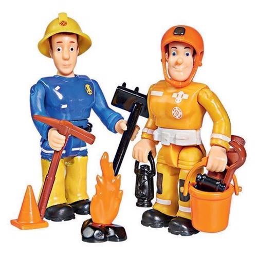 Image of   Brandmand sam, Figurer Sam og Arnold