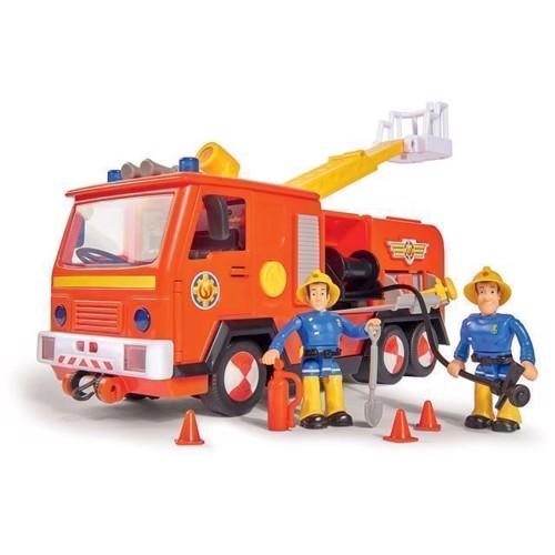 Image of   Brandmand Sam Jupiter 2.0 brandbil med figurer