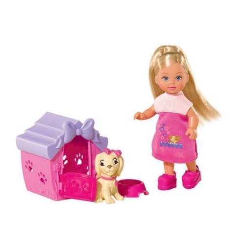 Image of Evi Love Evi dukke med hund og hundehus (4006592558673)