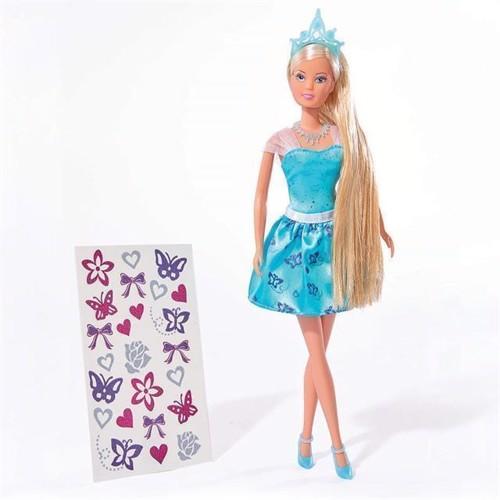 Image of   Steffi Love dukke, prinsesse med hår tattoveringer