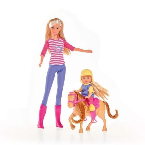 Image of   Steffi Love dukkesæt, pony træning