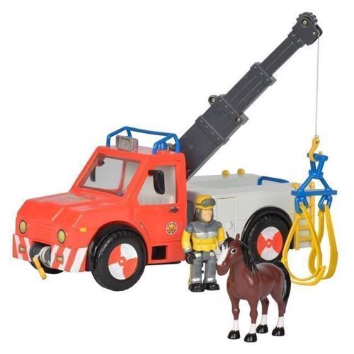 Image of   Brandmand Sam, Køretøj med hest
