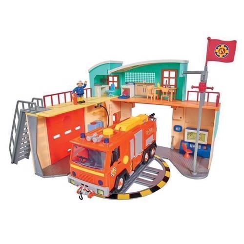 Image of   Brandmand Sam stor brandstationen