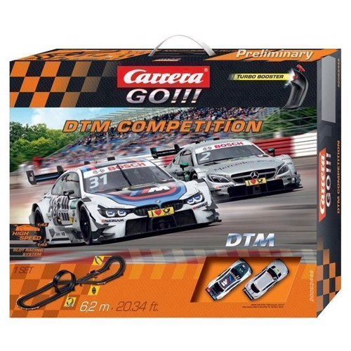 Image of Carrera GO !!! Racerbane DTM Competition (4007486624498)