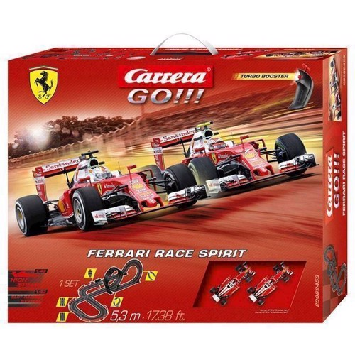 Image of Carrera Go racerbane, Ferrari Race Spirit (4007486624535)