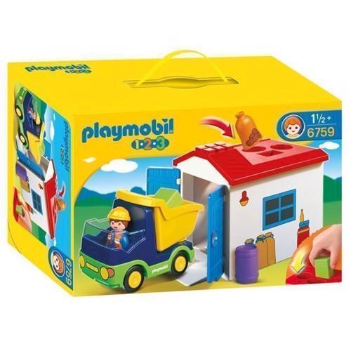 Image of Playmobil 6759 lastbil med garage (4008789067593)