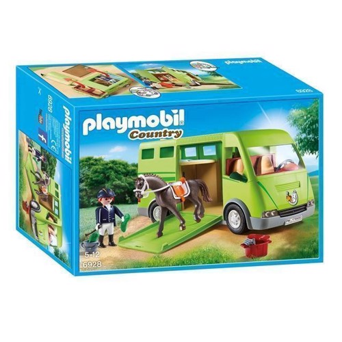 Image of Playmobil 6928 Hestetransporter (4008789069283)