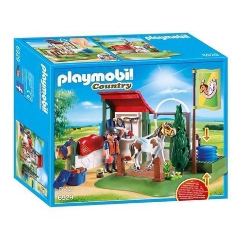 Image of Playmobil 6929 Hestevaskeplads