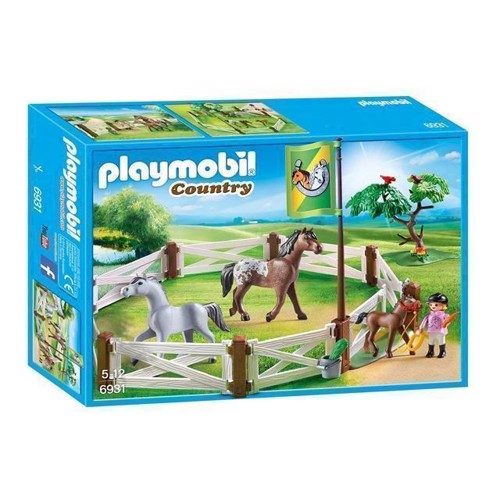 Image of Playmobil 6931 Hestefold (4008789069313)
