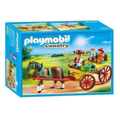 Image of Playmobil 6932 Hestevogn (4008789069320)