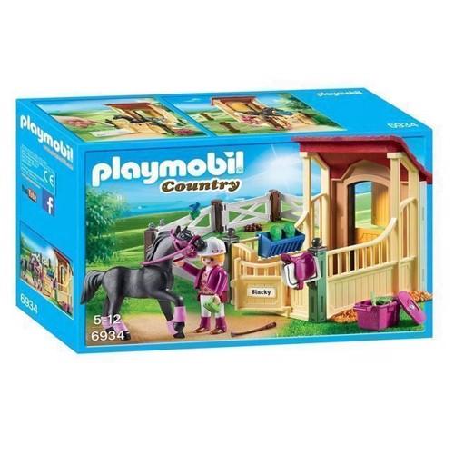 Image of Playmobil 6934 Hesteboks Med Araberhest
