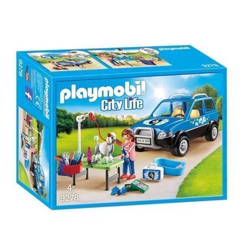 Image of Playmobil 9278 Mobil Hundesalon (4008789092786)