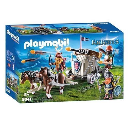 Image of Playmobil 9341 Ponyforspand med dværgeballist (4008789093417)