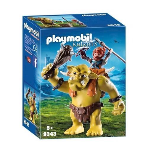 Image of Playmobil 9343 Kæmpetrold med dværgekæmper (4008789093431)