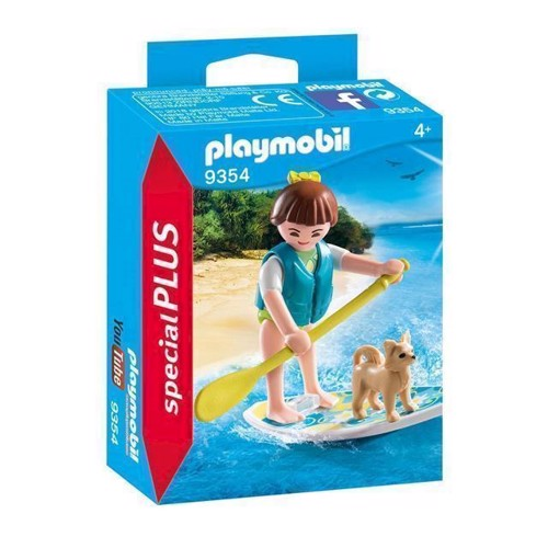 Image of Playmobil 9354 Surfer (4008789093547)