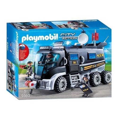 Image of Playmobil 9360 Sek Truck Med Lys Og Lyd (4008789093608)